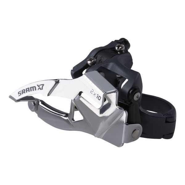 SRAM X7 Front Derailleur - 2x10 Low Clamp 31.8/34.9 Dual Pull