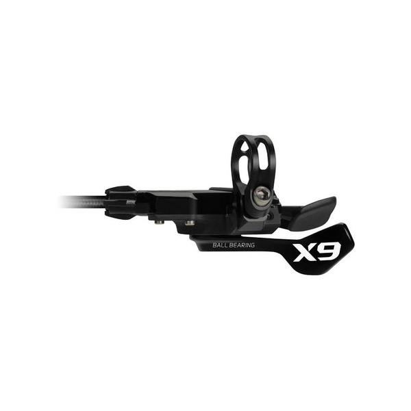 SRAM X9 Shifter - Trigger - Bearing - 3 Speed Front - ZeroLoss - Grey