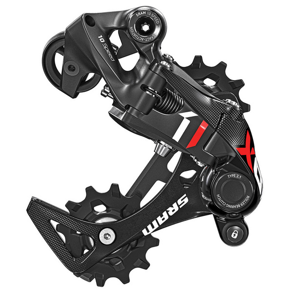SRAM X01DH Rear Derailleur - Type 2.1 - 10 Speed - Short Cage - Red