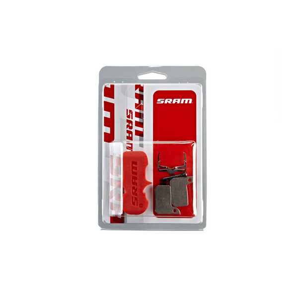 Sram Disc Brake Pads - Organic/Steel (Quiet) - Monoblock - Sram Hydraulic Road Disc, Level Ultimate/Tlm A1 (2017-2019)