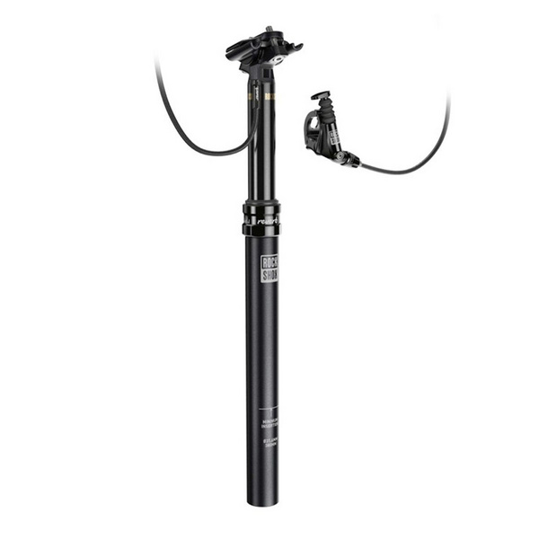 REVERB - 31.6MM 100MM DROP 340MM LONG MMX RIGHT/ABOVE LEFT/BELOW - (INCLUDES BLEED KIT & MATCHMAKER X MOUNT) B1: BLACK 31.6MM X 340MM 100MM