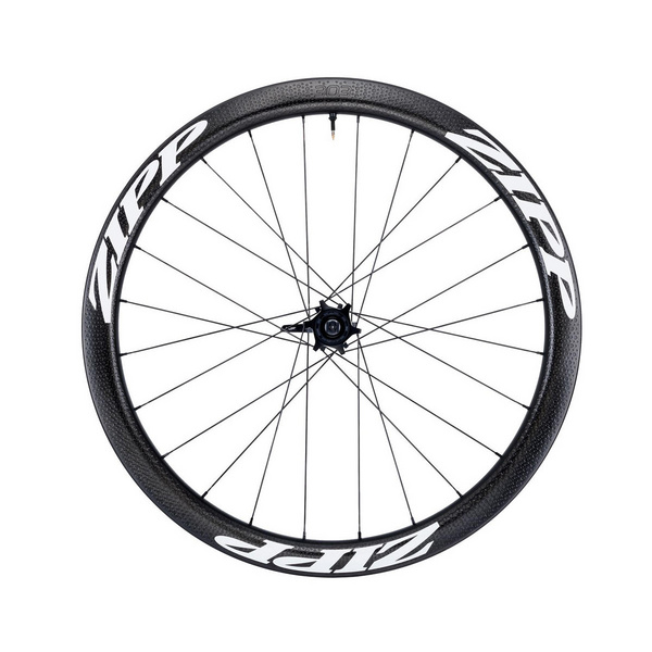 Zipp 303 Firecrest Tubeless Disc Brake 77D Front 24 Spokes, Convertible Includes- Quick Release 12Mm & 15Mm Through Axle Caps
