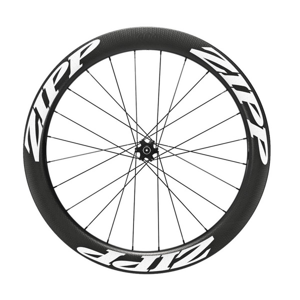 Zipp 404 Firecrest Tubeless Disc Brake 6-Bolt 700C 77D Front 24 Spokes Convertible-Quick Release, 12Mm & 15Mm Through Axle A1