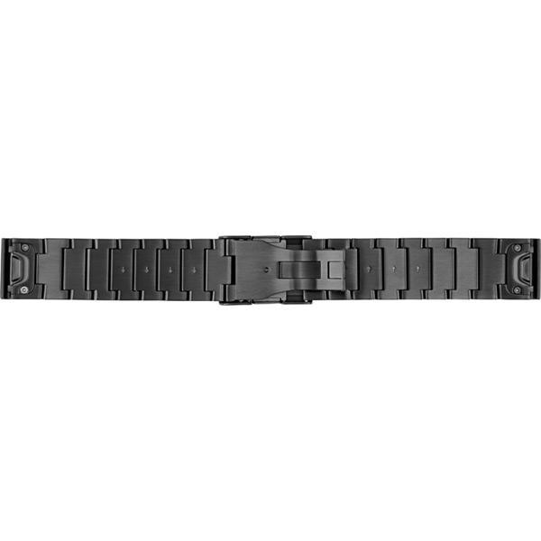 Garmin Fenix 5 - Quickfit 22 watch band - Stainless Steel Grey