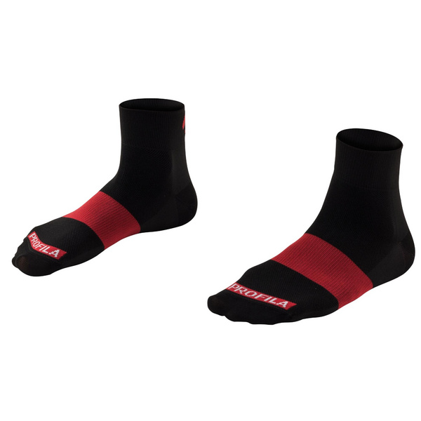 """Bontrager Race 1"""" Cycling Sock - Red"""