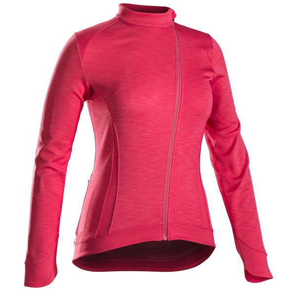 Bontrager Vella Thermal Long Sleeve Women's Cycling Jersey - Pink