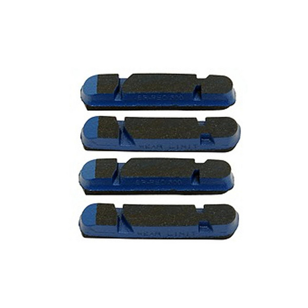 Campagnolo Spares Br-Bo500 Brake Pads For Peo Rims Blue (4 Pcs)