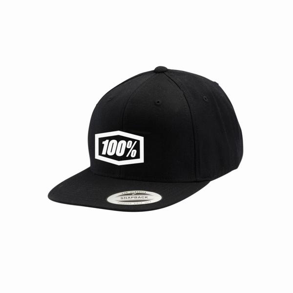 100% Classic Snapback Hat Adult