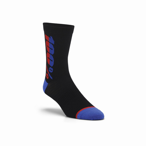 100% RHYTHM Merino Wool Performance Socks Black L / XL