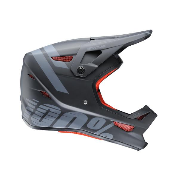 100% Status DH / BMX Helmet Black Meteor XL