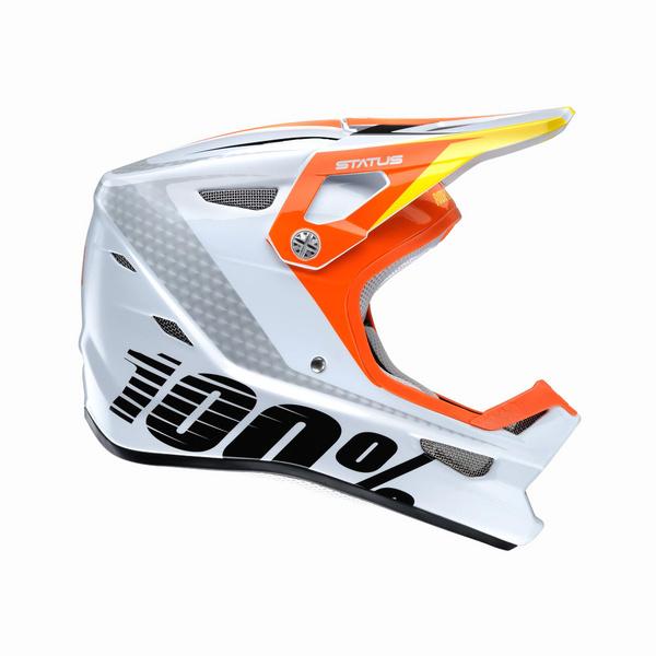 100% Status DH / BMX Helmet D-Day White Youth M