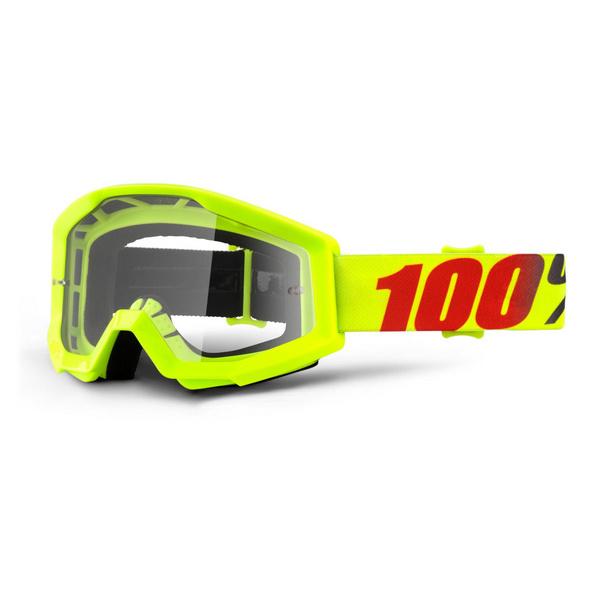 100% Strata Goggles Mercury / Clear Lens