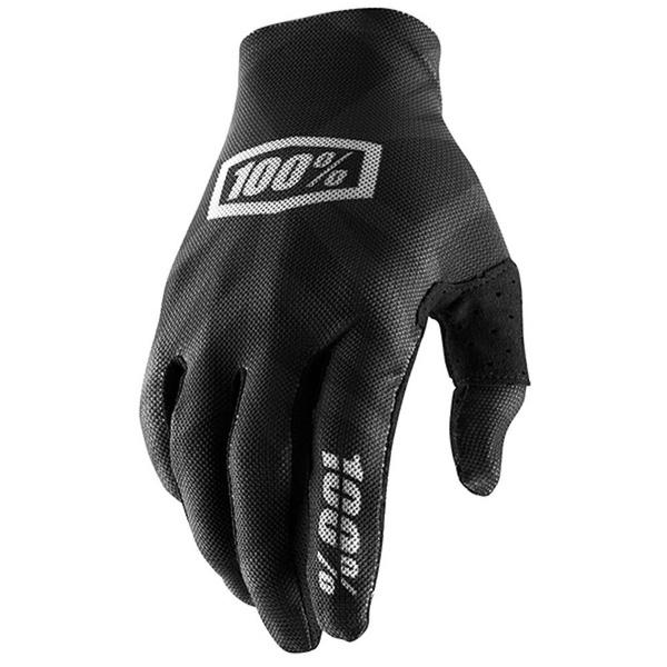 100% Celium 2 Glove Black / Silver XXL