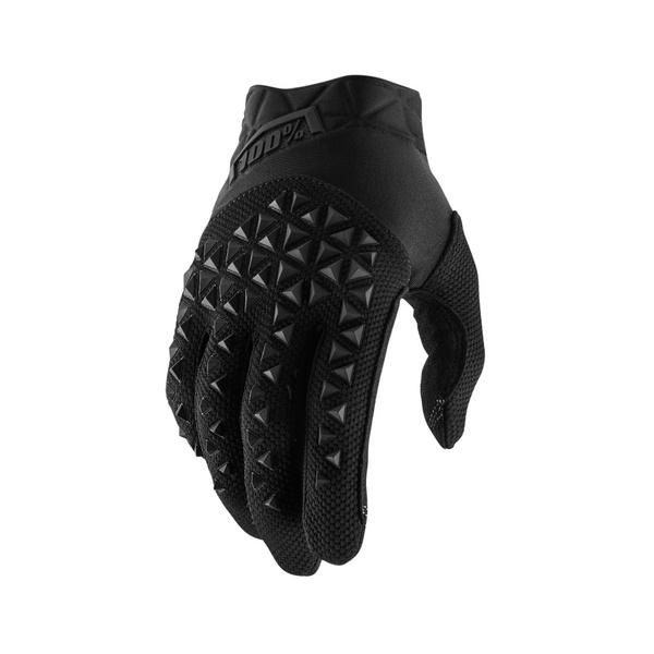100% Airmatic Glove Blue / Black M