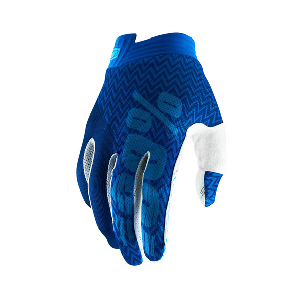 100% iTrack Glove Black / Aqua L