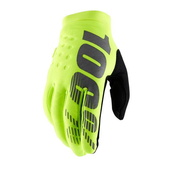 100% Brisker Cold Weather Glove Camo / Black S