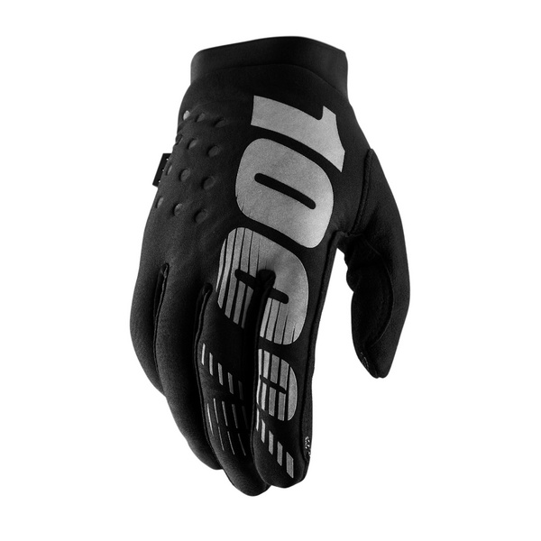 100% Brisker Women's Cold Weather Glove Neon Pink / Black XL