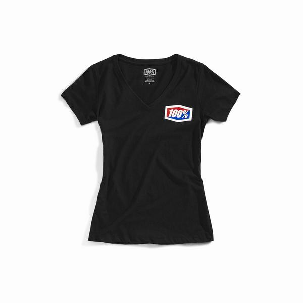 100% OFFICIAL Women's T-Shirt Black L