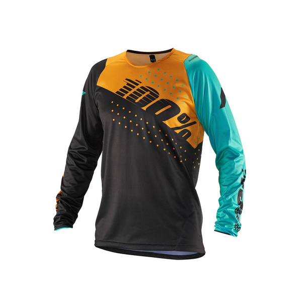 100% R-Core Jersey Charcoal XL