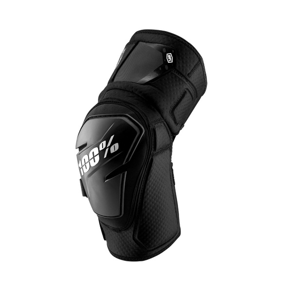 100% Fortis Knee Guard Grey Heather / Black L/XL