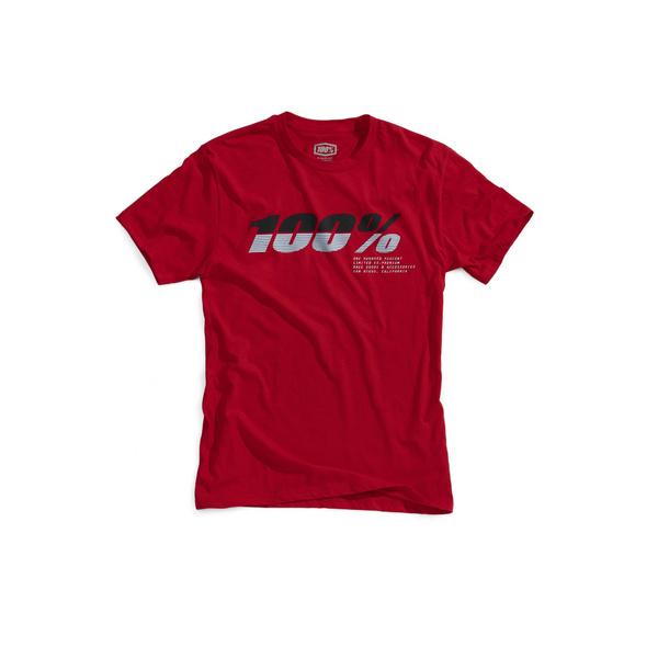 100% Bristol T-Shirt Red XL