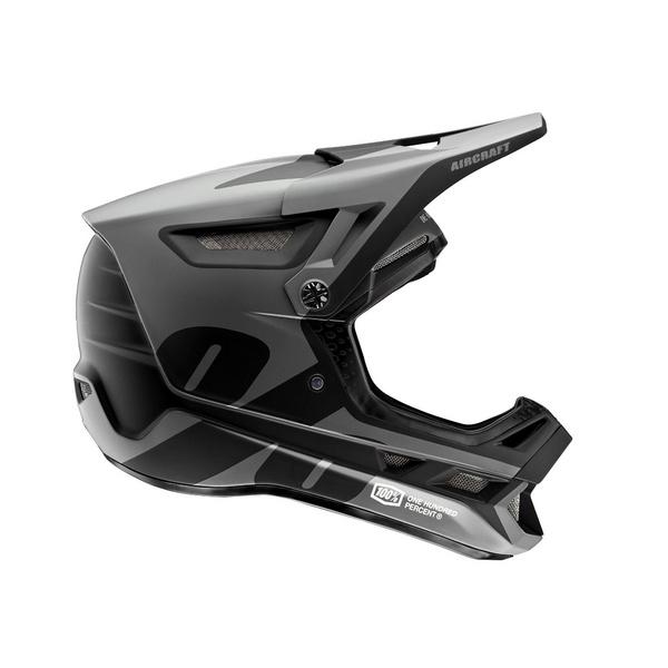 100% Aircraft Composite Helmet LTD Black L
