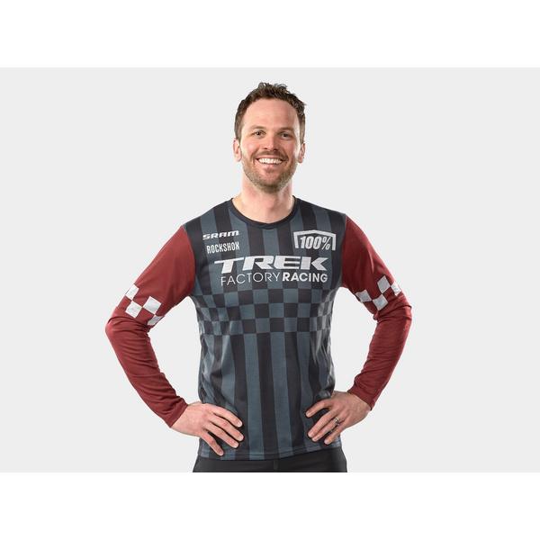 100% Trek Factory Racing Long Sleeve Replica Jersey