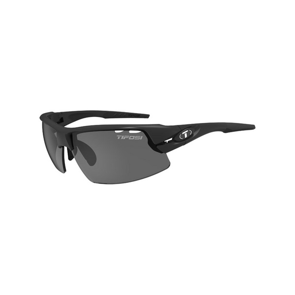 TIFOSI CRIT HALF FRAME MATT BLACK SUNGLASSES 2018: MATT BLACK