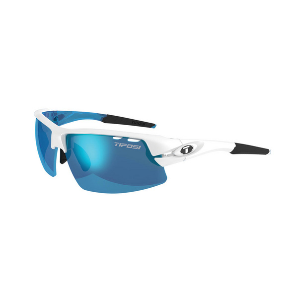 TIFOSI CRIT HALF FRAME INTERCHANGEABLE CLARION LENS SUNGLASSES