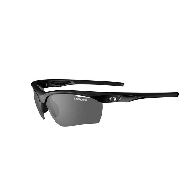 TIFOSI VERO INTERCHANGEABLE LENS SUNGLASSES 2018: GLOSS BLACK