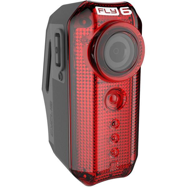 Fly6(v) - HD Rear Facing Bike Camera with 30 Lumen Light