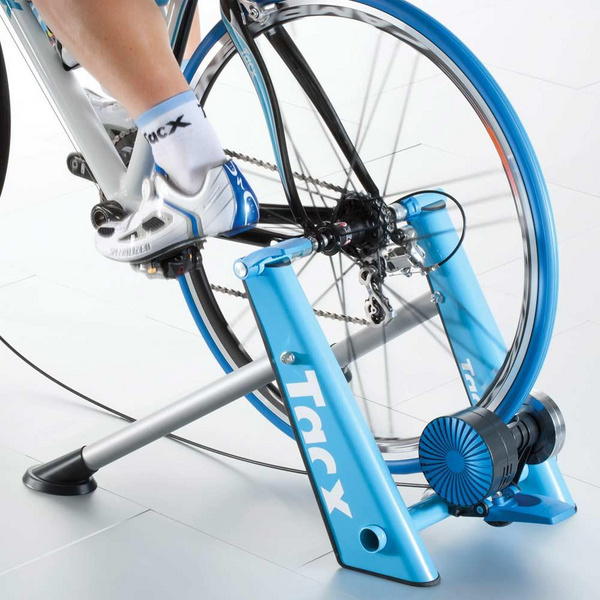 TACX BLUE MATIC FOLDING MAGNETIC TRAINER: