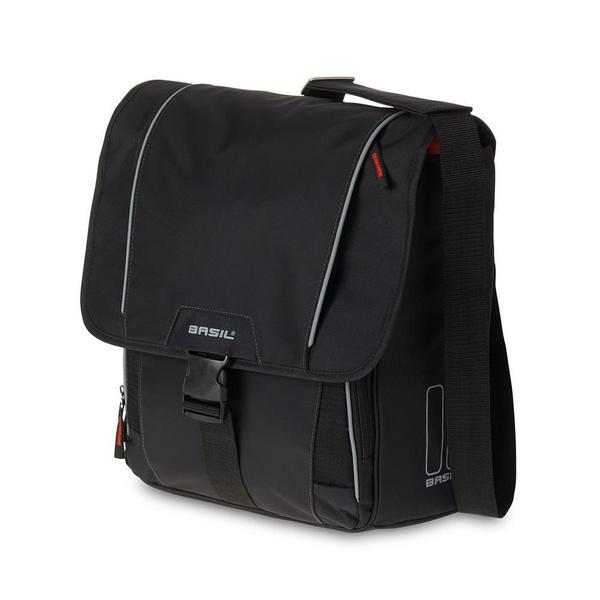 Basil Sport Design Commuter Shoulder Pannier Bag Black 18L