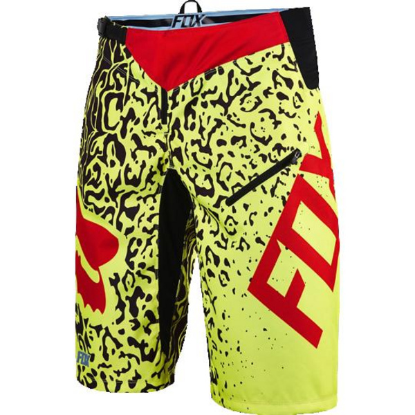 Fox Demo Cauz DH Short [Flo Ylw] 34