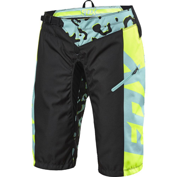Fox Womens Demo Race Short [Miami Grn] Xlarge