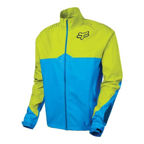 Fox Downpour LT Jacket [Blu/Ylw] Medium