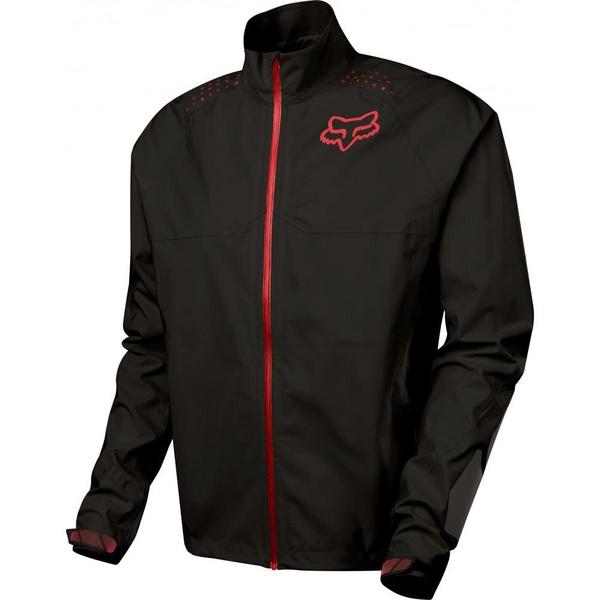 Fox Downpour LT Jacket [Blk/Char] Small