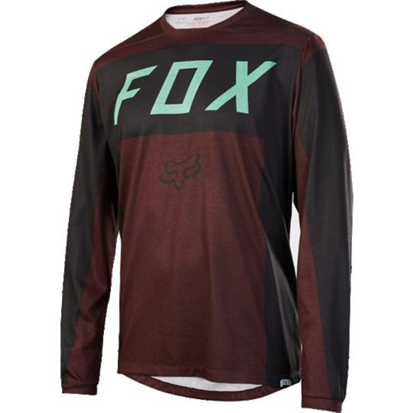 Fox Men's Indicator LS Moth Jersey [BRGY] S