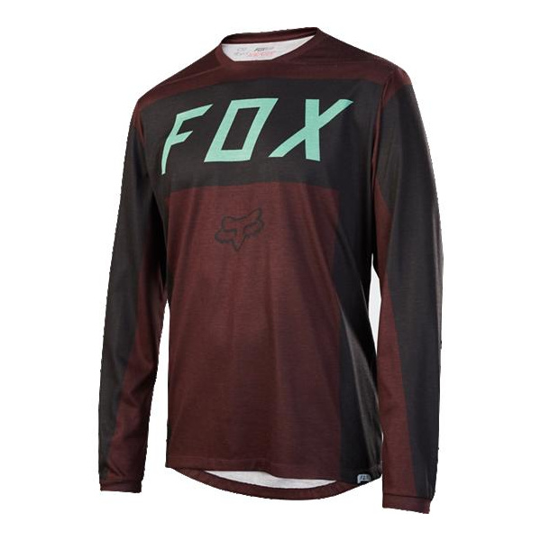 Fox Men's Indicator LS Moth Jersey [BRGY] L