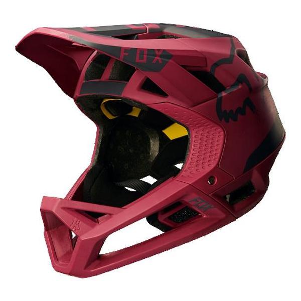 Fox Men's Proframe Moth Helmet Dark Red Medium